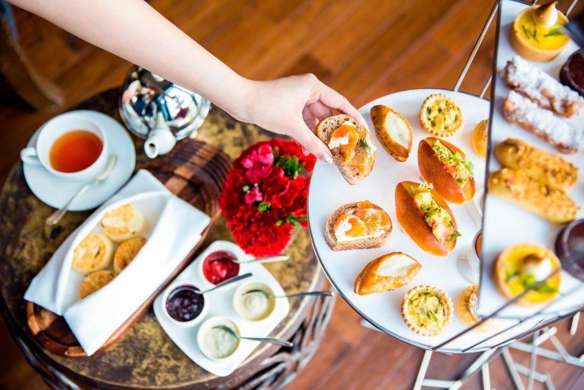 The St. Regis Bangkok Luxury Hotel - Bangkok, Thailand - Signature Tea Service