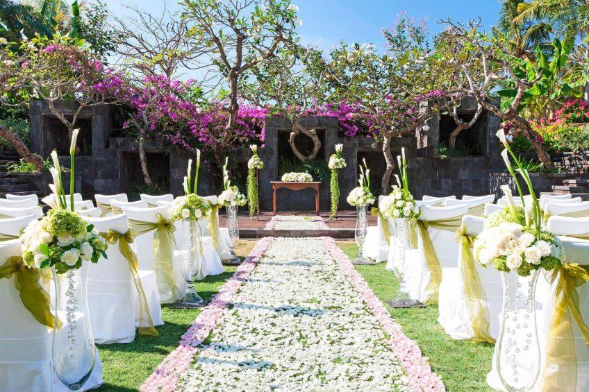 The St. Regis Bali Luxury Resort - Bali, Indonesia - Wedding Amphitheater