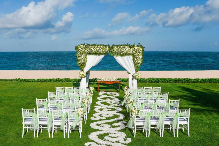 The St. Regis Bali Luxury Resort - Bali, Indonesia - Cloud Nine Lawn Wedding Ceremony