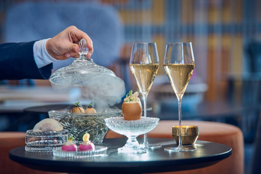 The St. Regis Bangkok Luxury Hotel - Bangkok, Thailand - IGNIV Restaurant Food and Beverage Service