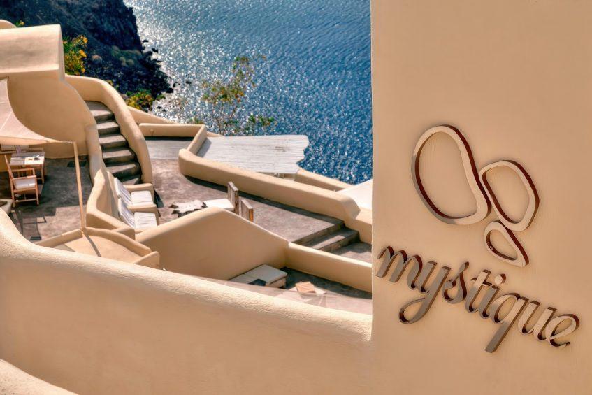 Mystique Luxury Hotel Santorini – Oia, Santorini Island, Greece - Hotel Clifftop Ocean View