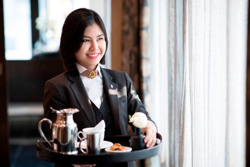The St. Regis Bangkok Luxury Hotel - Bangkok, Thailand - Butler Service Tea