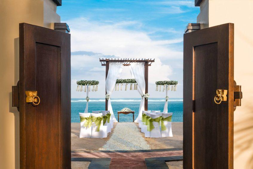 The St. Regis Bali Luxury Resort - Bali, Indonesia - Beach Wedding Ceremony