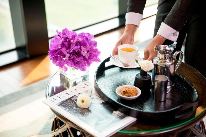 The St. Regis Bangkok Luxury Hotel - Bangkok, Thailand - Butler Signature Tea Service