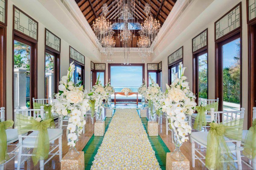 The St. Regis Bali Luxury Resort - Bali, Indonesia - Cloud Nine Chapel Wedding Ceremony