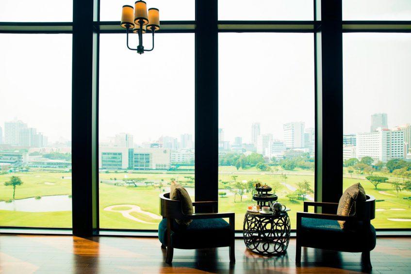 The St. Regis Bangkok Luxury Hotel - Bangkok, Thailand - The St. Regis Bar Tea Service