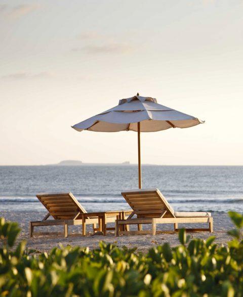 The St. Regis Punta Mita Luxury Resort - Nayarit, Mexico - Beach Lounge Chairs