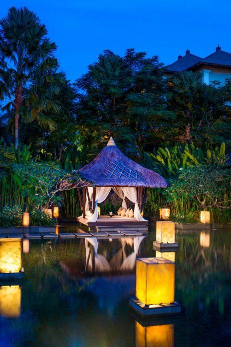 The St. Regis Bali Luxury Resort - Bali, Indonesia - St. Regis Bali Spa Relaxation Gazebo