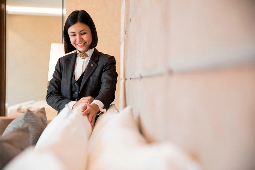 The St. Regis Bangkok Luxury Hotel - Bangkok, Thailand - Butler Service Turn Down