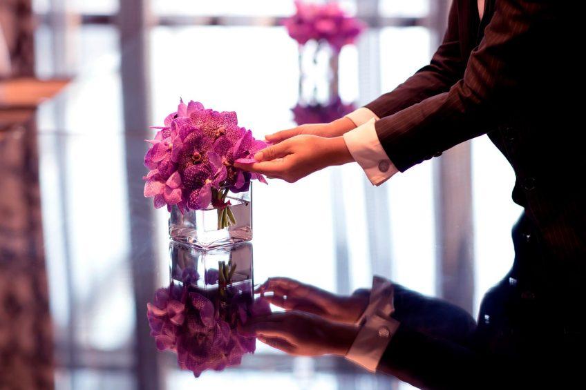The St. Regis Bangkok Luxury Hotel - Bangkok, Thailand - Butler Service Flowers