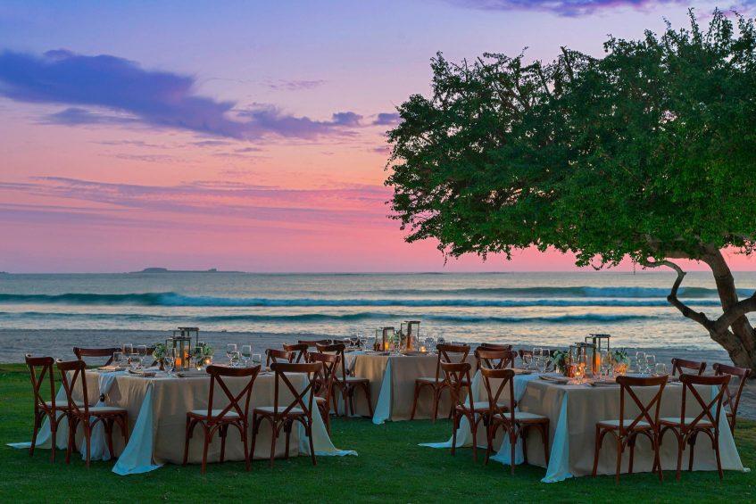 The St. Regis Punta Mita Luxury Resort - Nayarit, Mexico - Beach Event Set Up