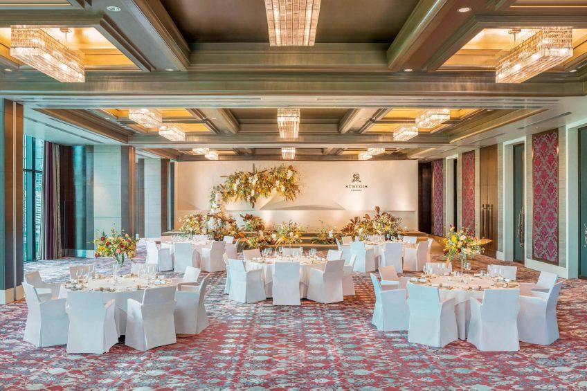 The St. Regis Bangkok Luxury Hotel - Bangkok, Thailand - Astor Ballroom Wedding Reception