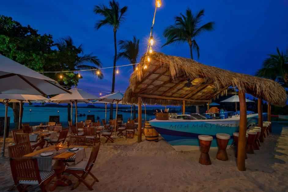 The St. Regis Punta Mita Luxury Resort - Nayarit, Mexico - Mita Mary Boat Bistro