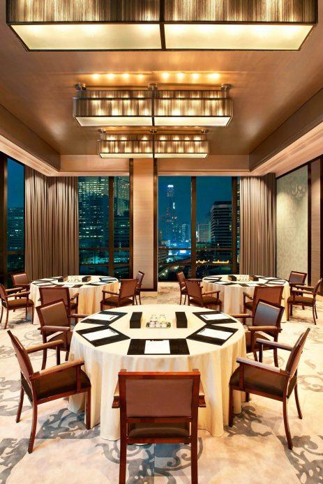 The St. Regis Bangkok Luxury Hotel - Bangkok, Thailand - Rajadamri II Cluster Setup