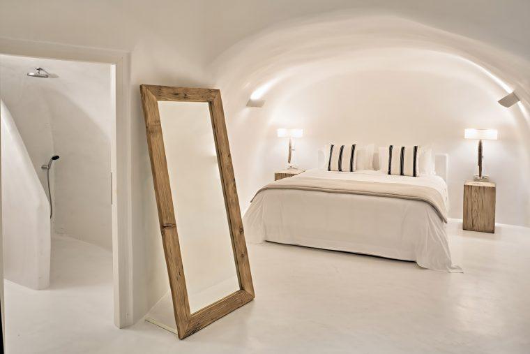 Mystique Luxury Hotel Santorini – Oia, Santorini Island, Greece - Holistic Villa Bedroom