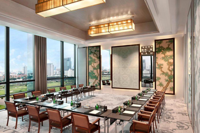 The St. Regis Bangkok Luxury Hotel - Bangkok, Thailand - Rajadamri I U-Shape Setup