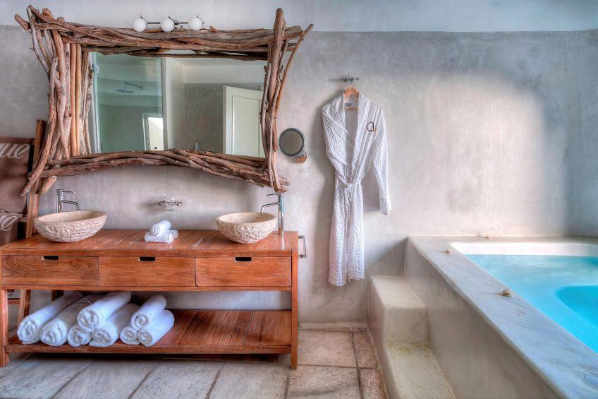 Mystique Luxury Hotel Santorini – Oia, Santorini Island, Greece - Villa Bathroom