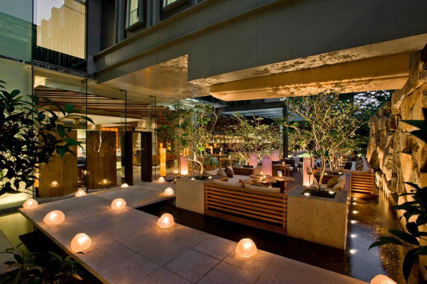The St. Regis Bangkok Luxury Hotel - Bangkok, Thailand - Zuma Restaurant Terrace