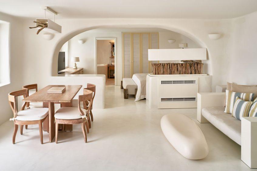 Mystique Luxury Hotel Santorini – Oia, Santorini Island, Greece - Secrecy Villa Living Room