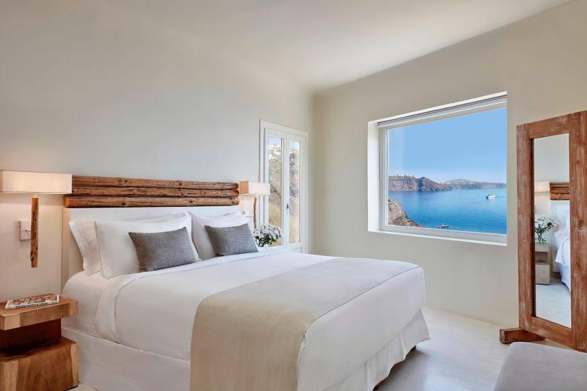 Mystique Luxury Hotel Santorini – Oia, Santorini Island, Greece - Mystery Villa Bedroom