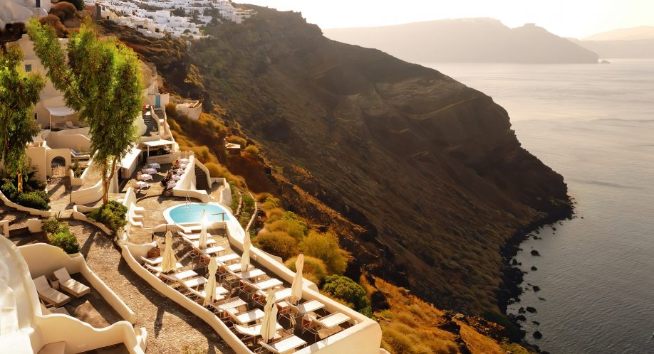 Mystique Luxury Hotel Santorini – Oia, Santorini Island, Greece - Cliffside Sea Views
