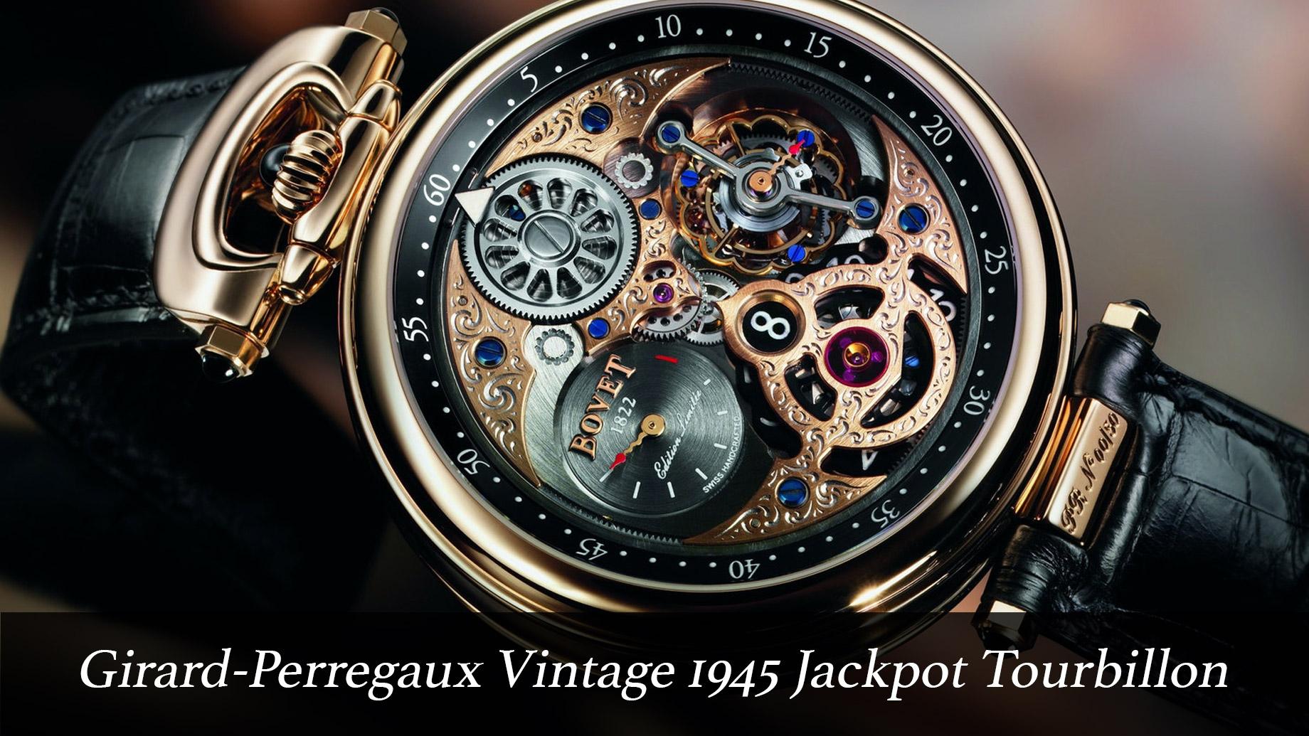 Girard-Perregaux Vintage 1945 Jackpot Tourbillon