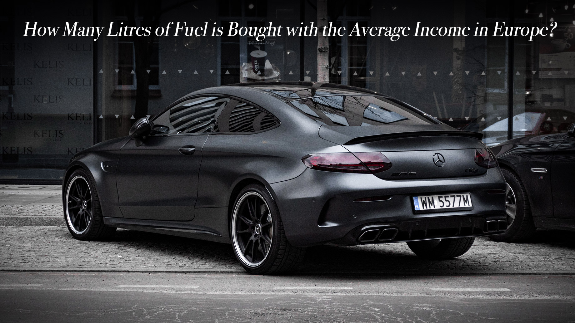 How Many Litres of Fuel is Bought with the Average Income in Europe?