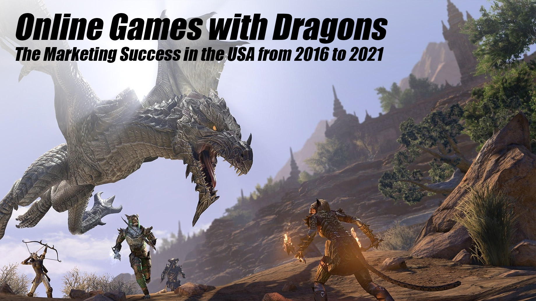 Online Games with Dragons - The Marketing Success in the USA from 2016 to 2021