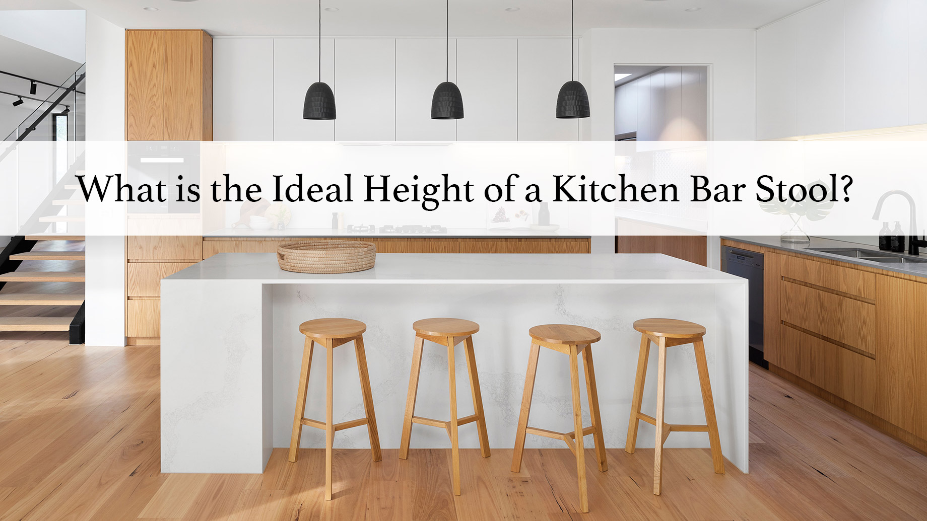 What is the Ideal Height of a Kitchen Bar Stool?