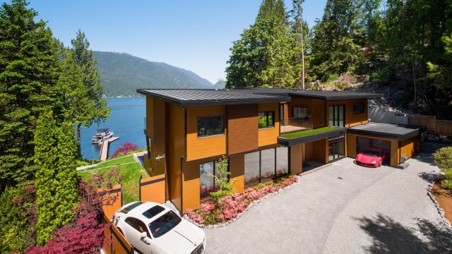 3350 Watson Rd, Belcarra, BC, Canada - Vancouver Luxury Real Estate - Front Exterior