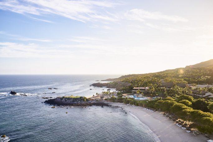 Four Seasons Luxury Resort Punta Mita - Nayarit, Mexico - Aerial View