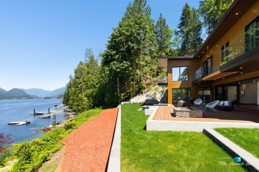 3350 Watson Rd, Belcarra, BC, Canada - Vancouver Luxury Real Estate - Oceanfront Deck
