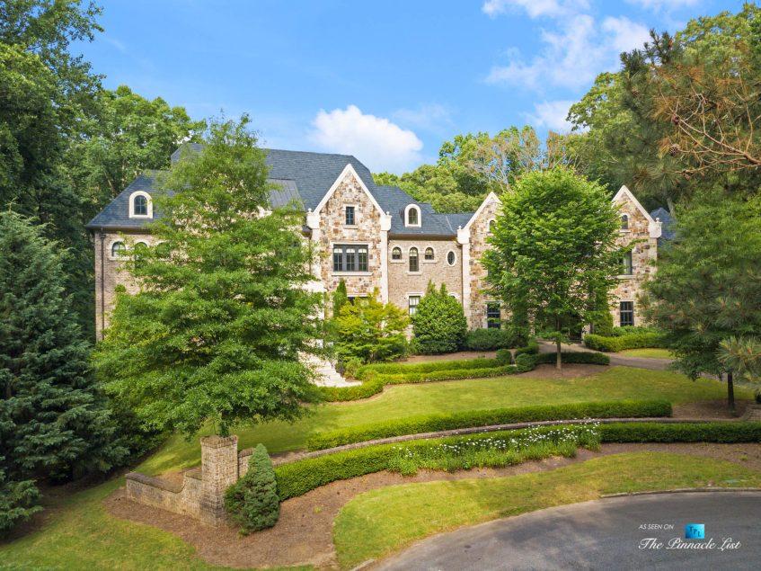 5705 Winterthur Ln, Sandy Springs, GA, USA - Atlanta Luxury Real Estate - Winterthur Estates