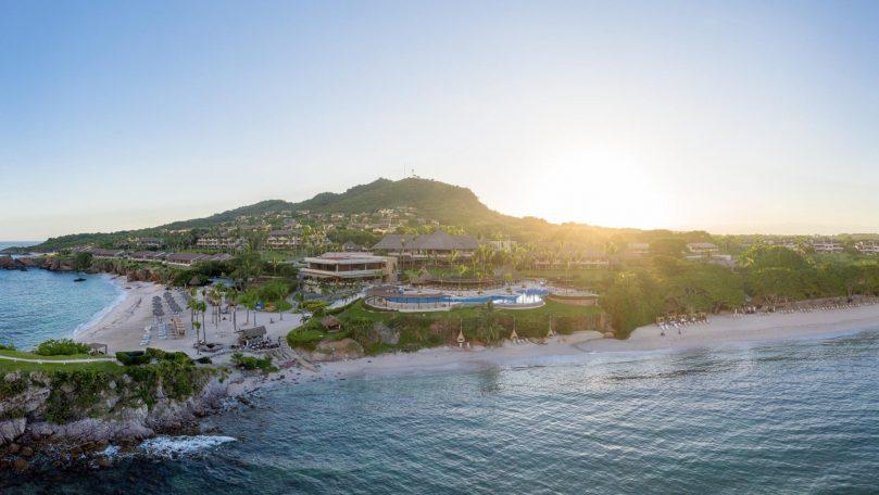 Four Seasons Luxury Resort Punta Mita - Nayarit, Mexico - Aerial Beach View