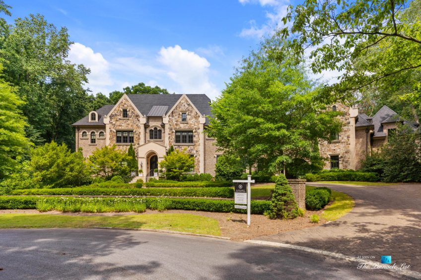 5705 Winterthur Ln, Sandy Springs, GA, USA - Atlanta Luxury Real Estate - Winterthur Estates Property