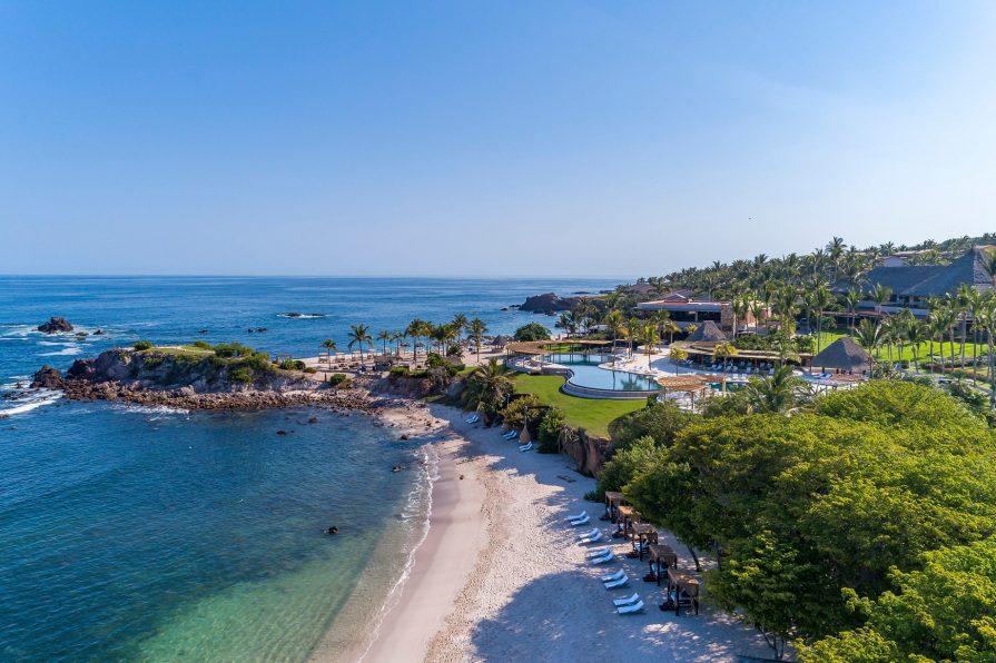 Four Seasons Luxury Resort Punta Mita - Nayarit, Mexico - Aerial Beach