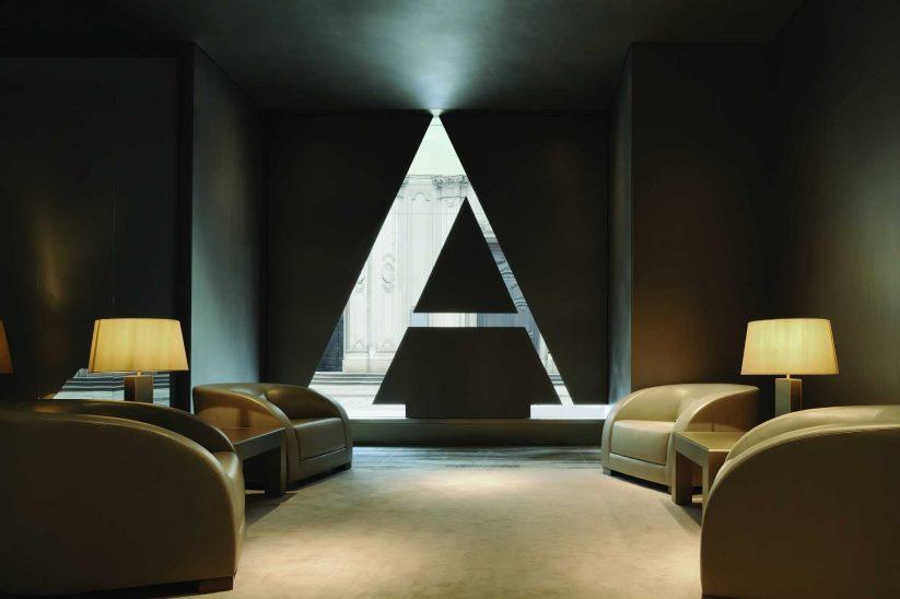 Armani Luxury Hotel Milano - Milan, Italy - Lounge Chairs