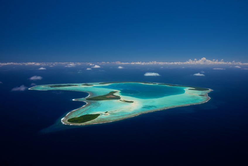 The Brando Luxury Resort - Tetiaroa Private Island, French Polynesia - Aerial