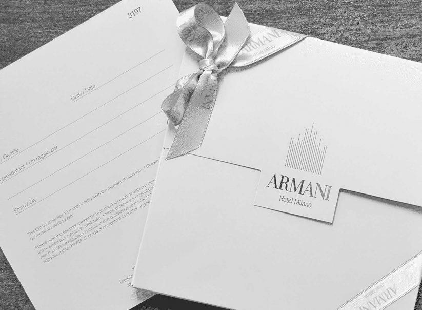 Armani Luxury Hotel Milano - Milan, Italy - Stationary