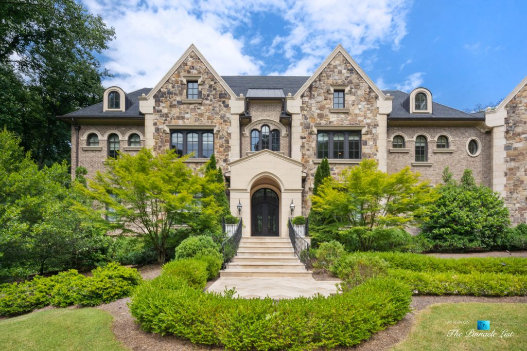 5705 Winterthur Ln, Sandy Springs, GA, USA - Atlanta Luxury Real Estate - Winterthur Estates Mansion