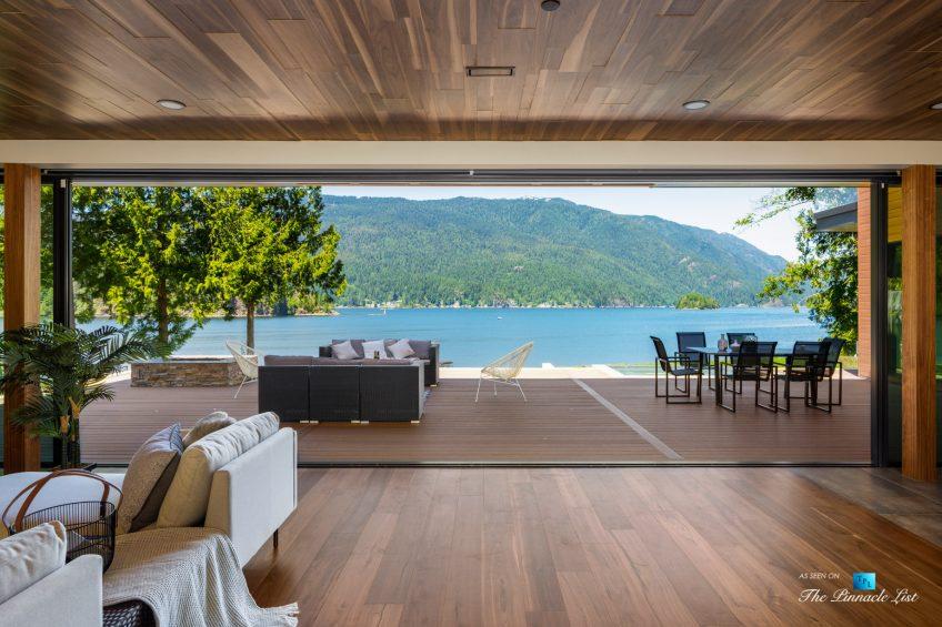 3350 Watson Rd, Belcarra, BC, Canada - Vancouver Luxury Real Estate - Oceanfront Indoor Outdoor Living