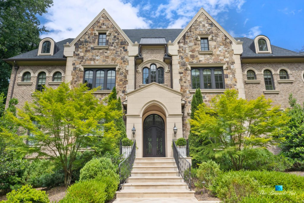 5705 Winterthur Ln, Sandy Springs, GA, USA - Atlanta Luxury Real Estate - Winterthur Estates House