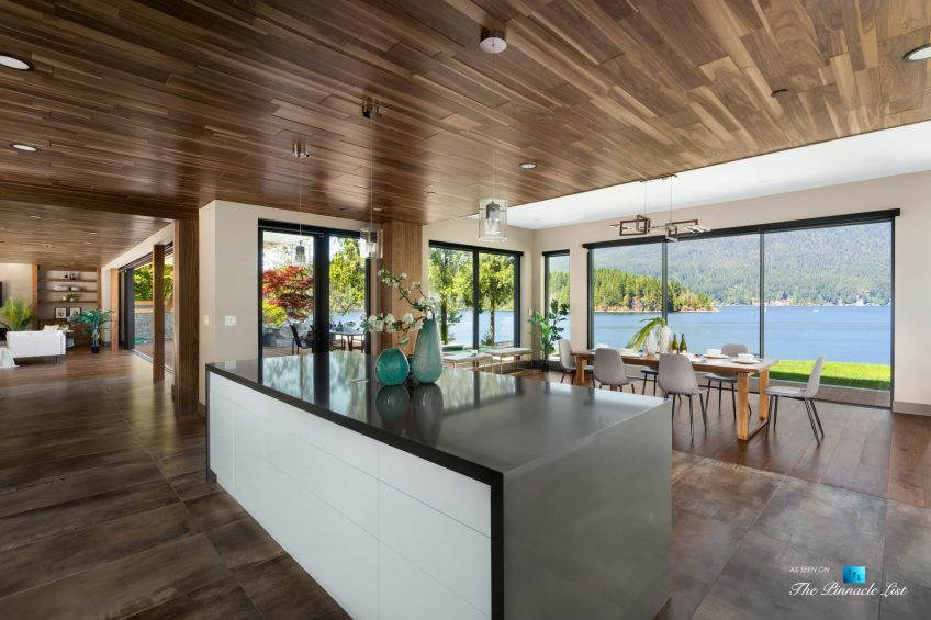 3350 Watson Rd, Belcarra, BC, Canada - Vancouver Luxury Real Estate - Kitchen Oceanview