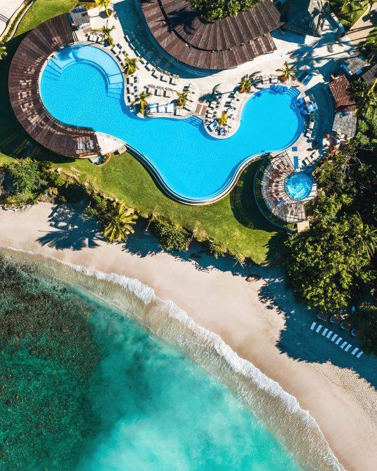 Four Seasons Luxury Resort Punta Mita - Nayarit, Mexico - Infinity Pool and Private White Sand Beach