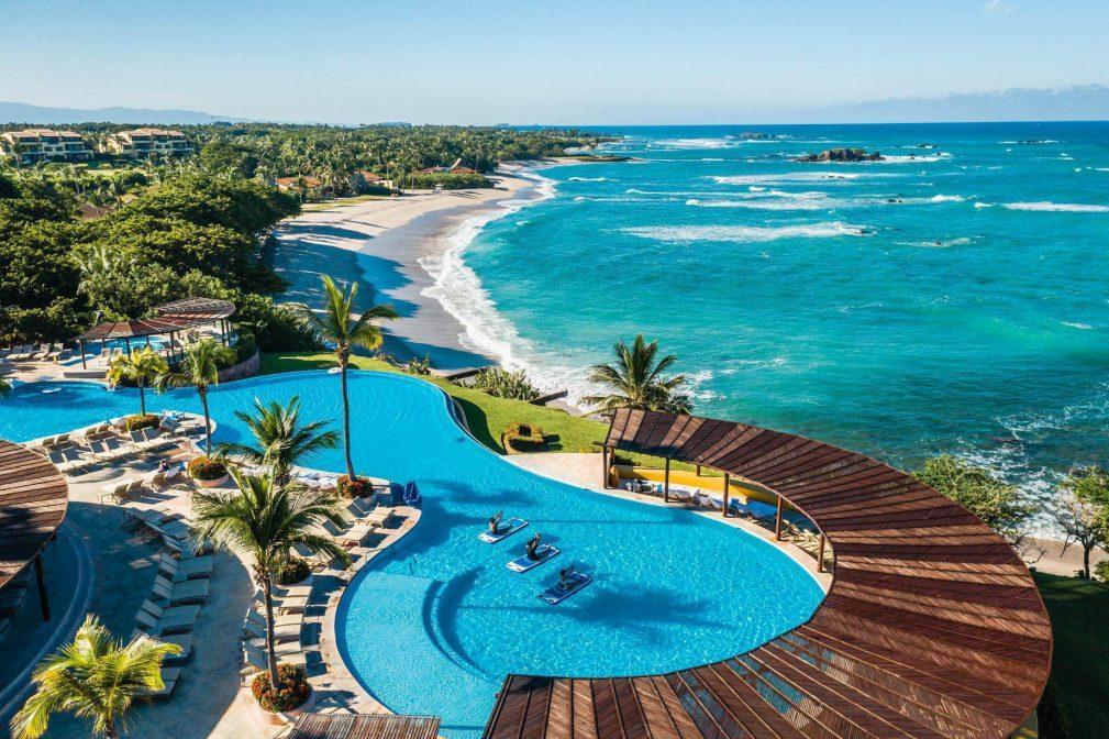 Four Seasons Luxury Resort Punta Mita - Nayarit, Mexico - Resort Infinity Pool and Beach