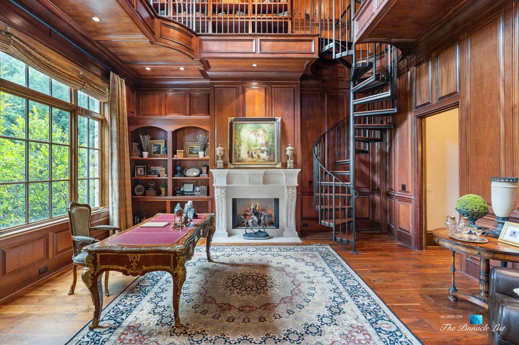 5705 Winterthur Ln, Sandy Springs, GA, USA - Atlanta Luxury Real Estate - Winterthur Estates Home - Private Office