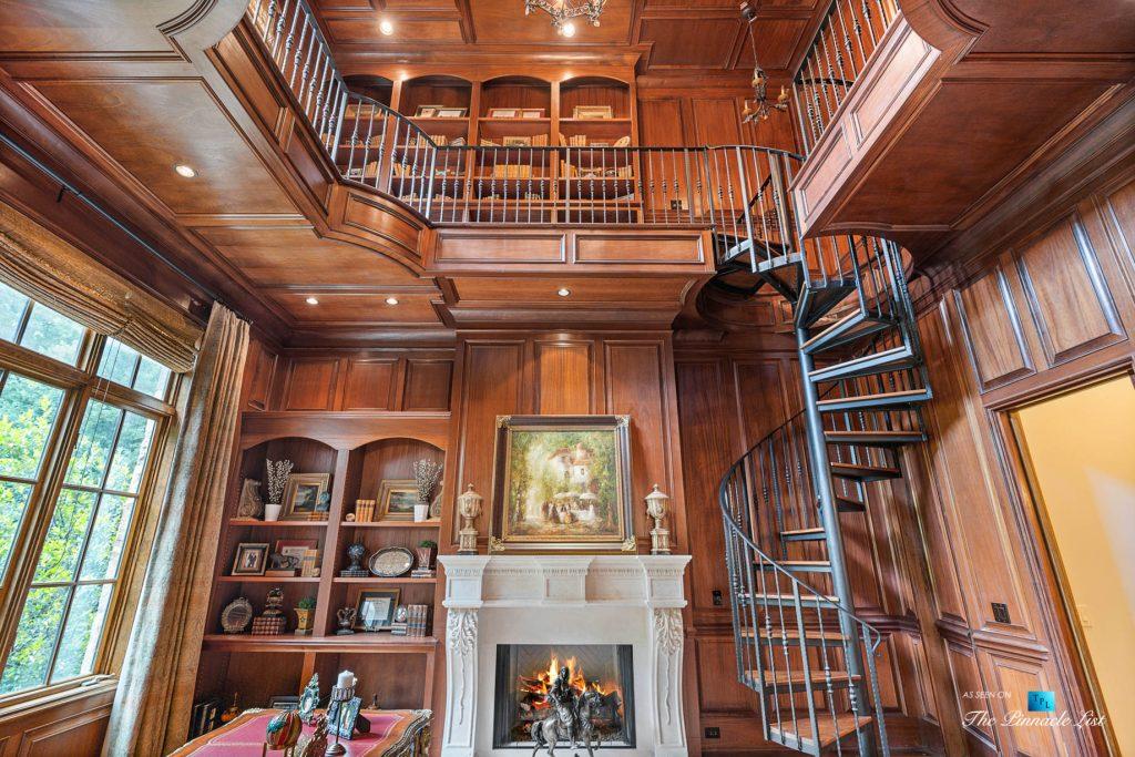 5705 Winterthur Ln, Sandy Springs, GA, USA - Atlanta Luxury Real Estate - Winterthur Estates Home - Private Office Balcony
