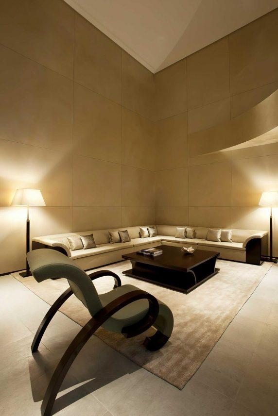 Armani Luxury Hotel Milano - Milan, Italy - Armani Signature Suite Cinema Living Room