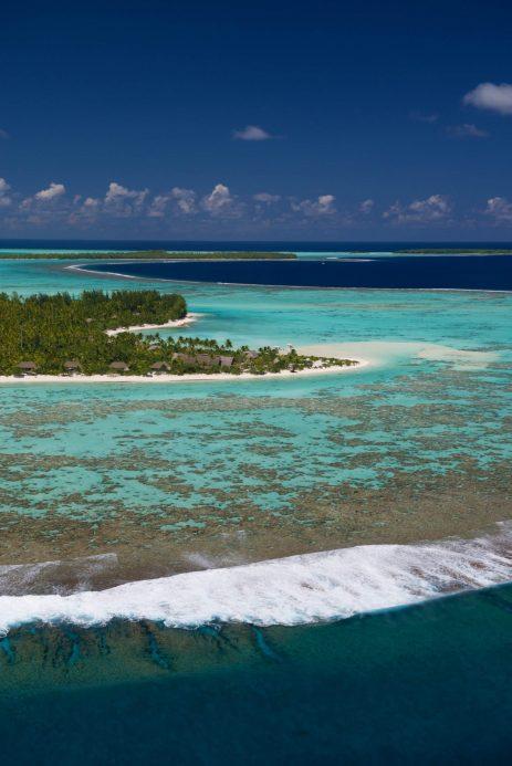 The Brando Luxury Resort - Tetiaroa Private Island, French Polynesia - Resort Aerial Reef View