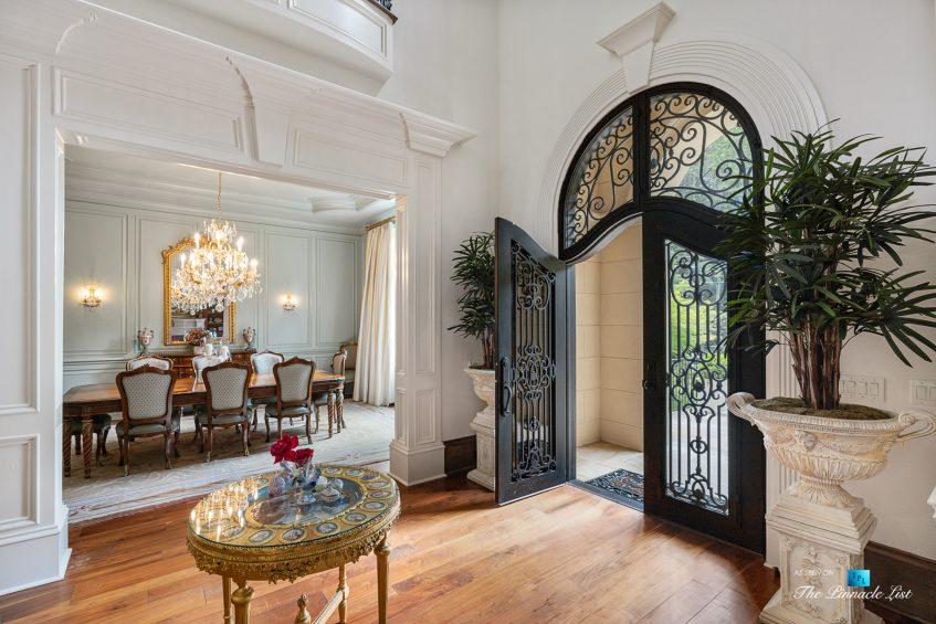 5705 Winterthur Ln, Sandy Springs, GA, USA - Atlanta Luxury Real Estate - Winterthur Estates Home - Foyer and Dining Room